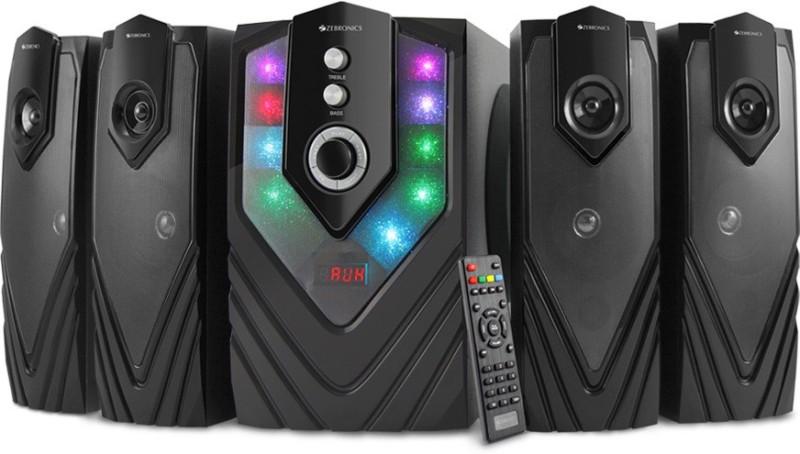 Zebronics Samba Bluetooth Home Audio Speaker(Black, 4.1 Channel) image