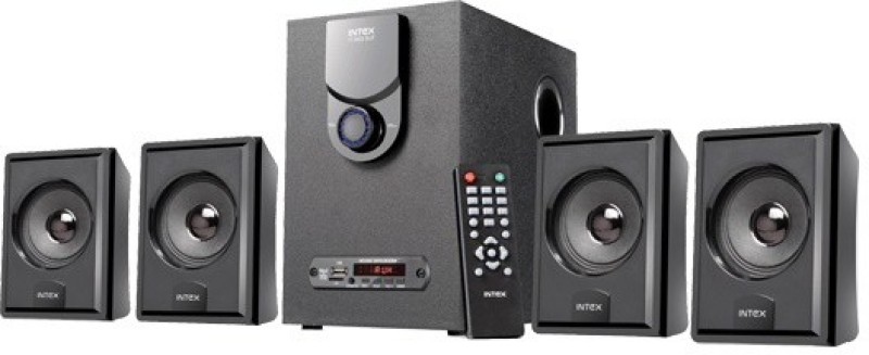 Intex IT-3002 SUF Home Audio Speaker(Black, 4.1 Channel)