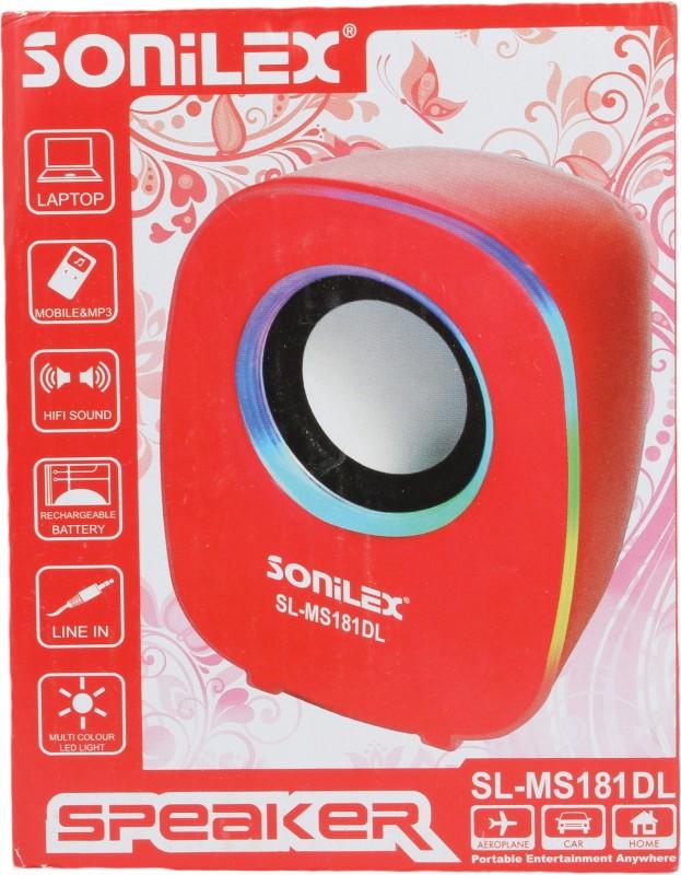 Sonilex SL-MS181DL Home Audio Speaker(Black, 2.1 Channel) image
