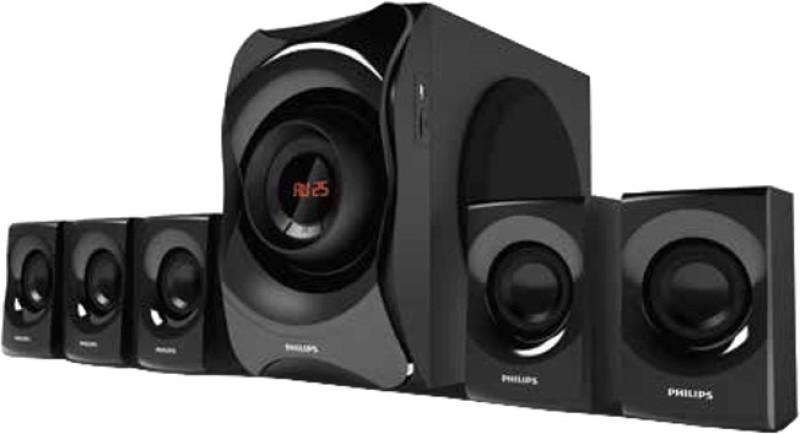 Philips IN - SPA8000B / 94 125 W Bluetooth Home Audio Speaker(Black,...