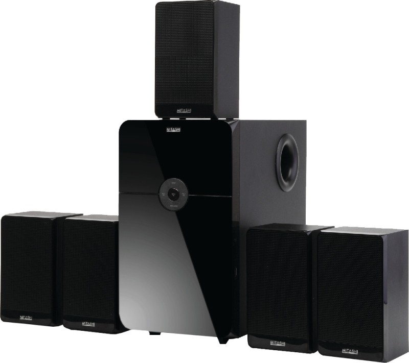 Mitashi 8500 Watts PMPO 5.1 Ch. BS-120BT Home Theatre System with Bluetooth Home Audio Speaker(Black, 5.1 Channel)