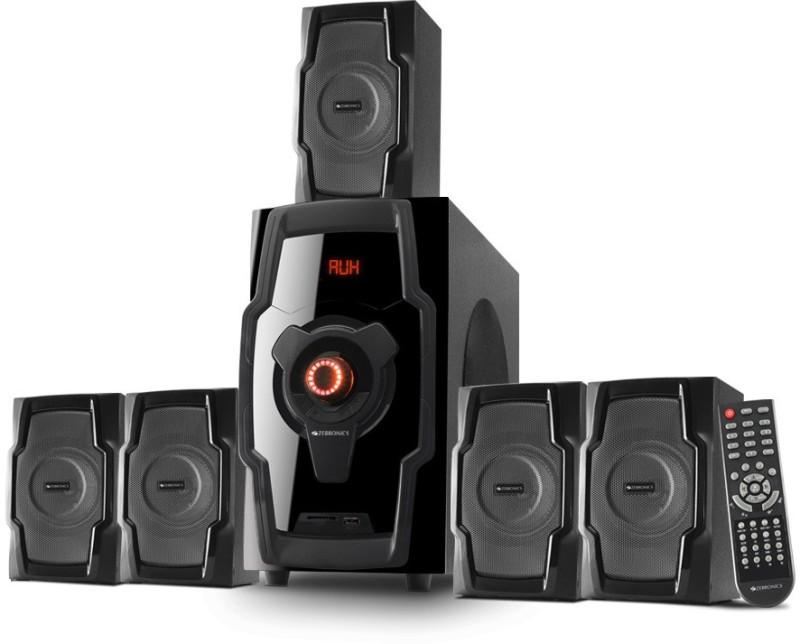 Zebronics ZEB-BT8490RUCF Bluetooth Home Theatre(Black, 5.1 Channel)