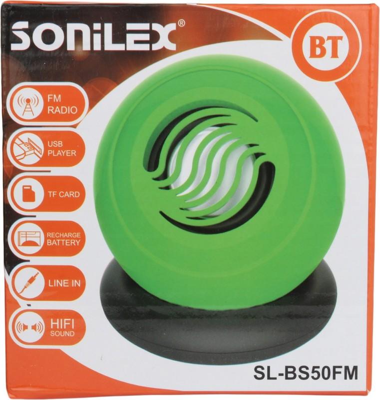 Sonilex SL-BS50FM Home Audio Speaker(Green, 2.1 Channel) image