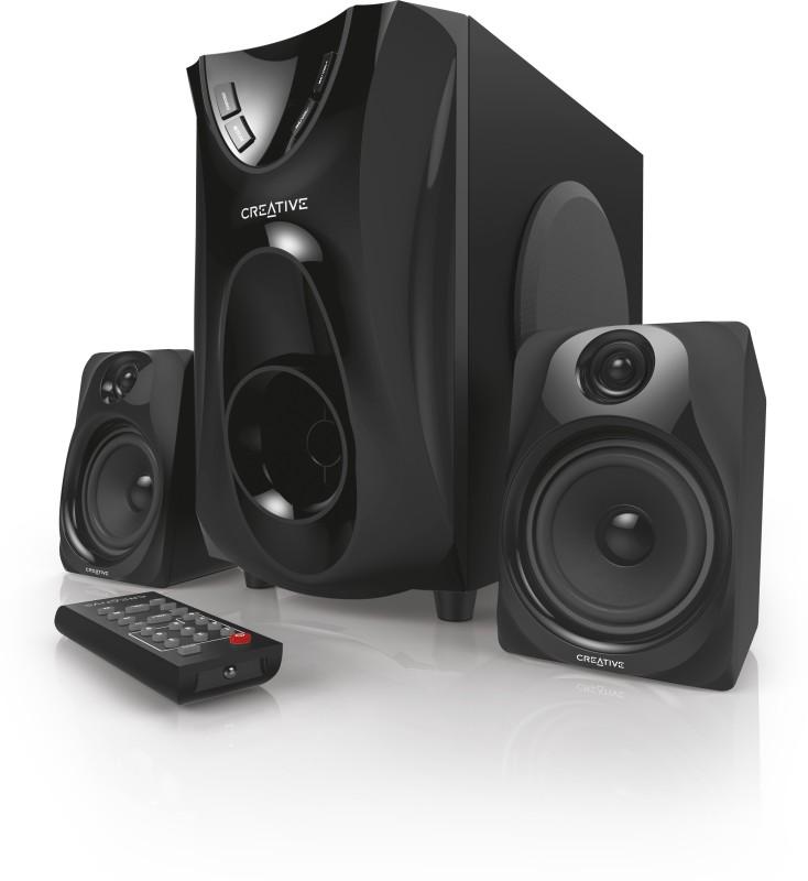 Creative Superb 2.1 Home Entertainment System 25 W Laptop/Desktop Speaker(Black, 2.1 Channel)
