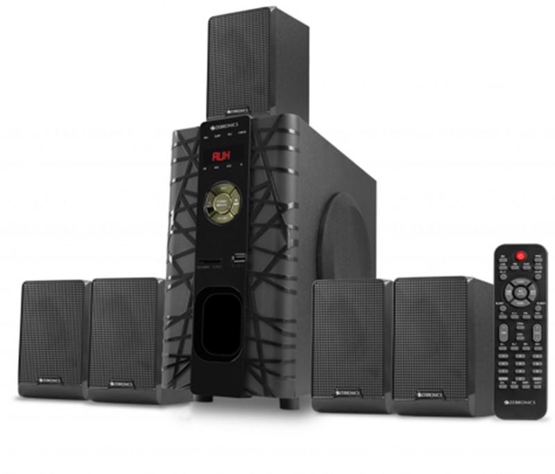 Zebronics BT6590 65 W Bluetooth Home Audio Speaker(White, 5.1 Channel)