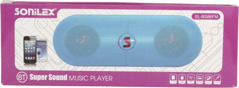 Sonilex SL-BS86FM Home Audio Speaker(White, 2.1 Channel) image