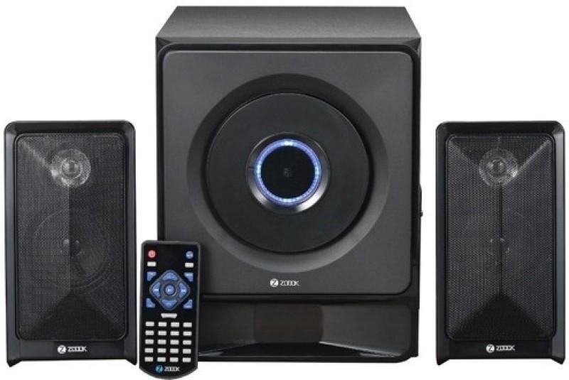 Zoook 2.1 ZM-SP5100 (FM/SD/USB) 15 W Portable Laptop/Desktop Speaker(Black, 2.1 Channel) image