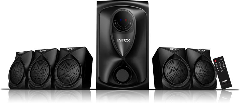 Intex IT- 505 U 60 W Laptop/Desktop Speaker(Black, 5.1 Channel)