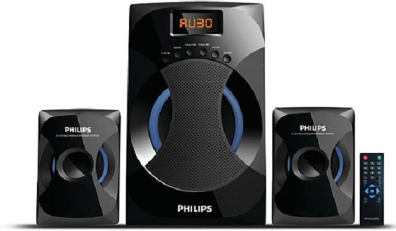 Philips MMS4545B/94 42 W Bluetooth Laptop/Desktop Speaker(Black, 2.1 Channel)