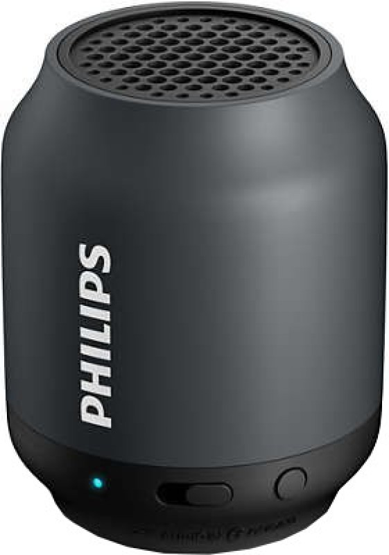 Philips Wireless Portable Speaker(Black, Mono Channel)