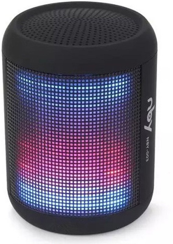 NBY NBY003_BLACK 10 W Portable Bluetooth Speaker(Black, 2.1 Channel)