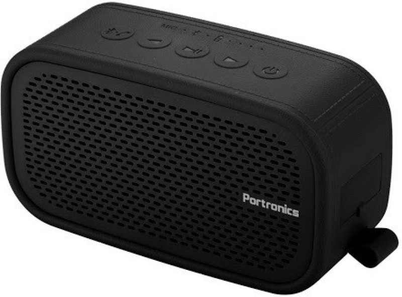 Portronics Posh 6 W Portable Bluetooth Speaker(Black, Stereo Channel)