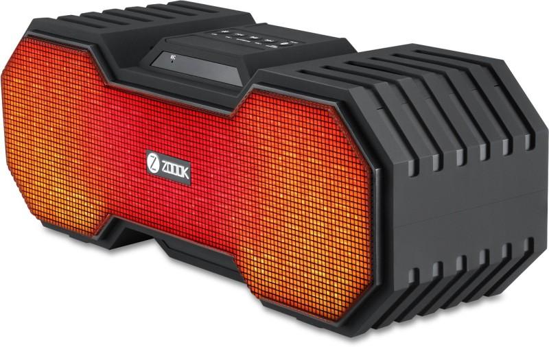 Zoook ZB-ROCKER3 Portable Bluetooth Mobile/Tablet Speaker(Black, Stereo Channel)