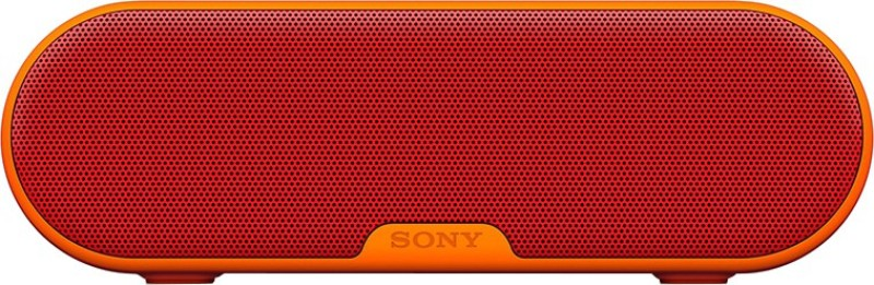 Sony SRS-XB2/RC 20 W Portable Bluetooth Speaker(Orange, Red, Stereo Channel)