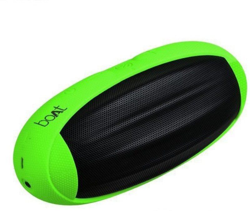 boAt Rugby 10 W Portable Bluetooth Speaker(Green, Mono Channel)
