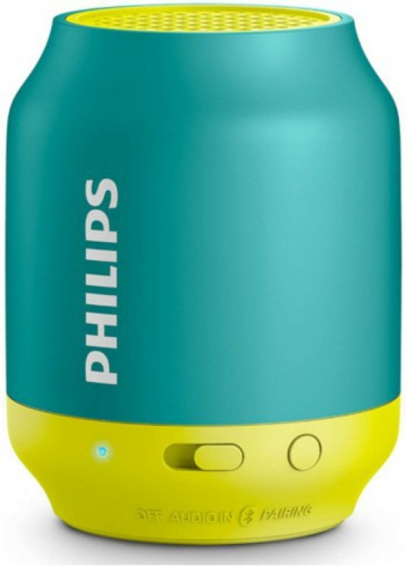 Philips BT50A/00 Portable Bluetooth Mobile/Tablet Speaker(Green Yellow, Mono Channel)