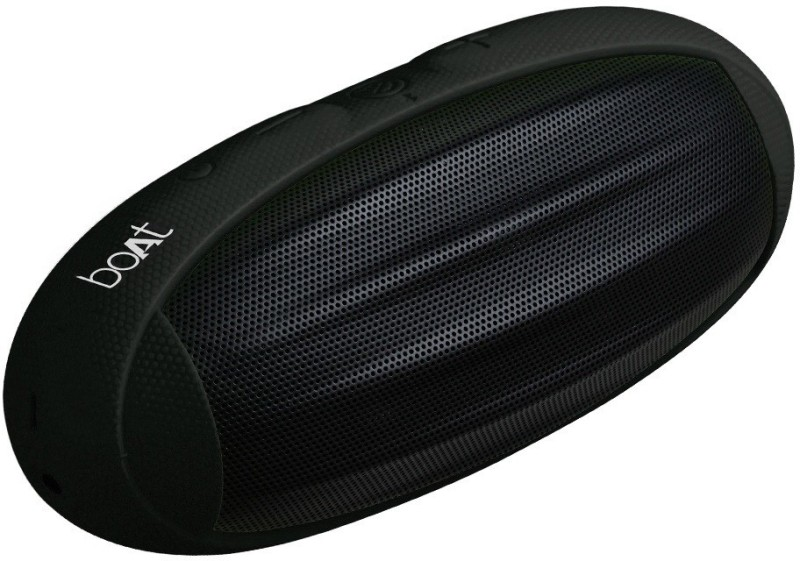 boAt Rugby 10 W Bluetooth Speaker(Black, Stereo Channel)