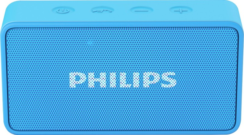 Philips BT64A/94 Portable Bluetooth Mobile/Tablet Speaker(Blue, Mono Channel)