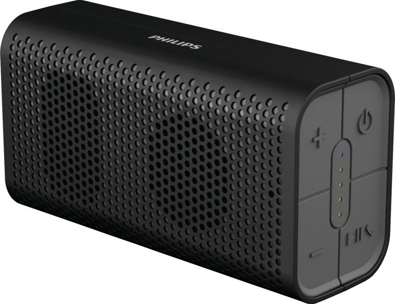 Philips IN-BT106/94 5 W Portable Bluetooth  Speaker(Black, Mono Channel) image