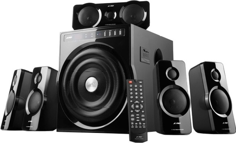 F&D F6000U Home Audio Speaker(Black, 5.1 Channel)