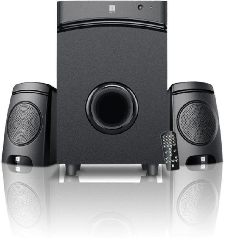 Iball Tarang V7 9 W Portable Laptop/Desktop Speaker(Black, 2.1 Channel)