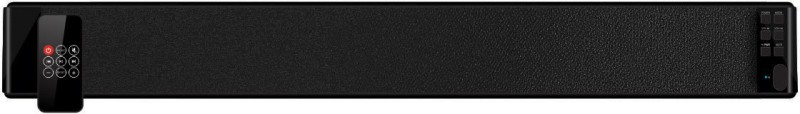 Portronics POR- 667 Sound Slick 30 W Portable Bluetooth Soundbar(Black, Stereo Channel)