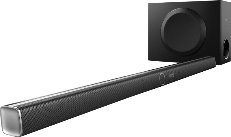 Philips HTL5160B/12 320 W Bluetooth Soundbar(Black, Stereo Channel)