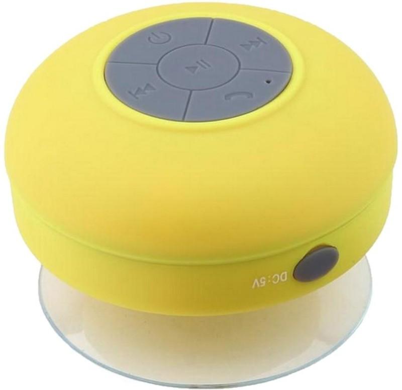 Elint W002Y 3 W Portable Bluetooth  Speaker(Yellow, Mono Channel) image