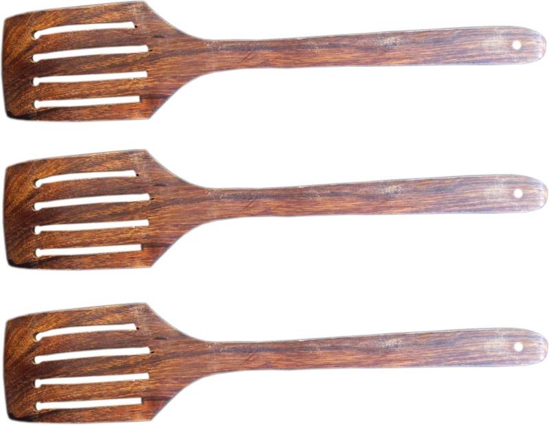 Marwar Wooden Wooden Spoon Set(Pack of 3)