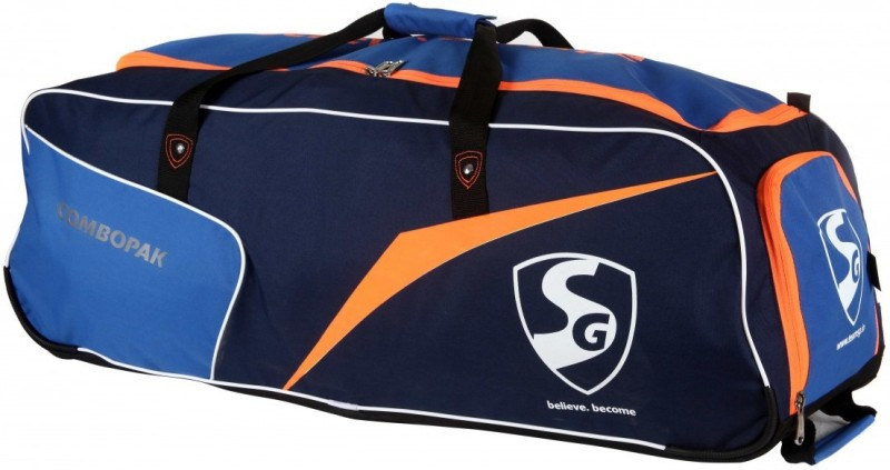 SG COMBOPACK Kit Bag(Black, Kit Bag)