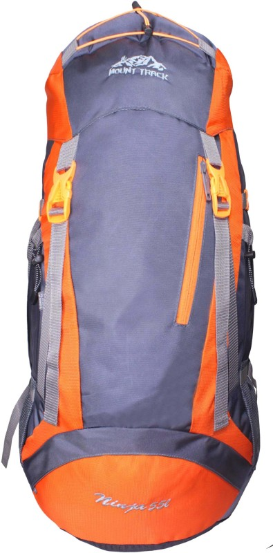Mount Track Ninja Hiking Rucksack - 55 L(Orange)