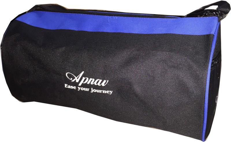 Apnav Drmshpbl Gym Bag(Black, Messenger Bag)