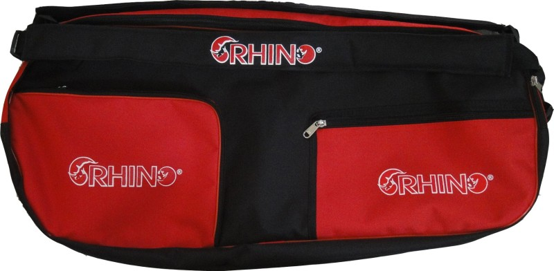 Rhino Tennis Bag Double Compartment Backpack(Multicolor, Kit Bag)