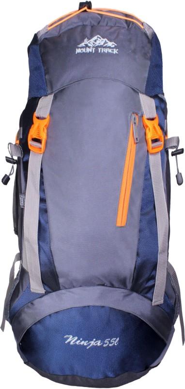 Mount Track Ninja Hiking 55 Ltrs Rucksack(Blue, Rucksack)