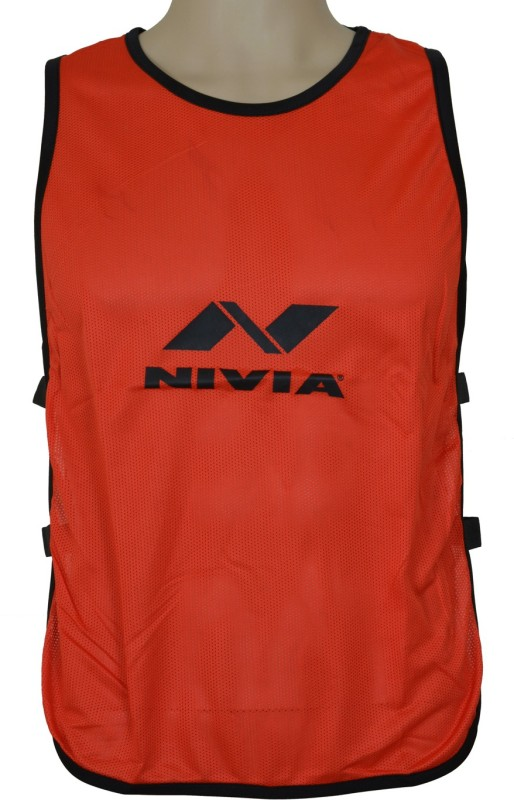 Nivia 1 Sport Bibs(Scarlet Red)