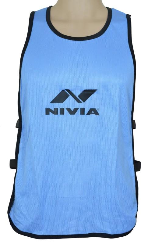 Nivia 1 Sport Bibs(Blue/Black)