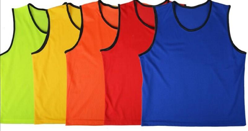 Sahni Sports 6 Sport Bibs(Red, Blue, Green, Orange, Yellow, Pink, Purple)