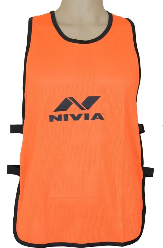 Nivia 1 Sport Bibs(Orange/Black)