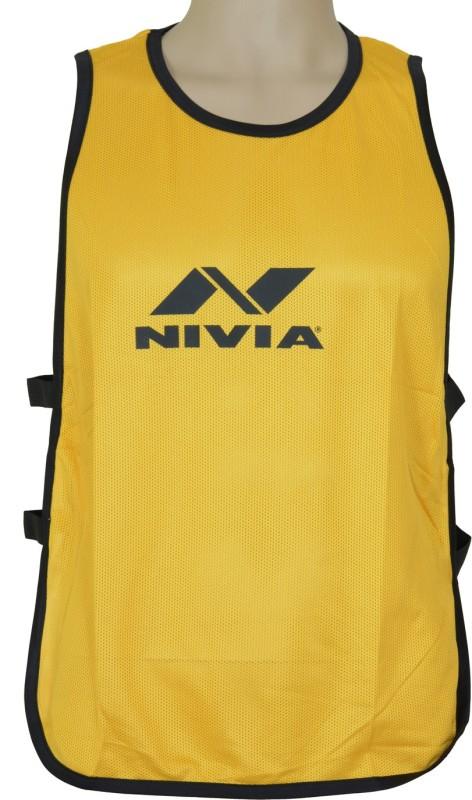 Nivia 1 Sport Bibs(Golden Yellow)