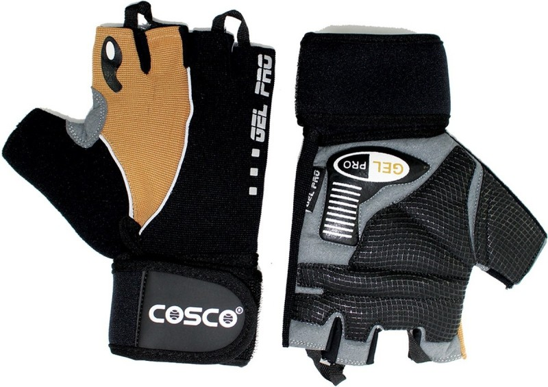 Cosco Gel Pro 28071 Gym & Fitness Gloves (XL, Multicolor)
