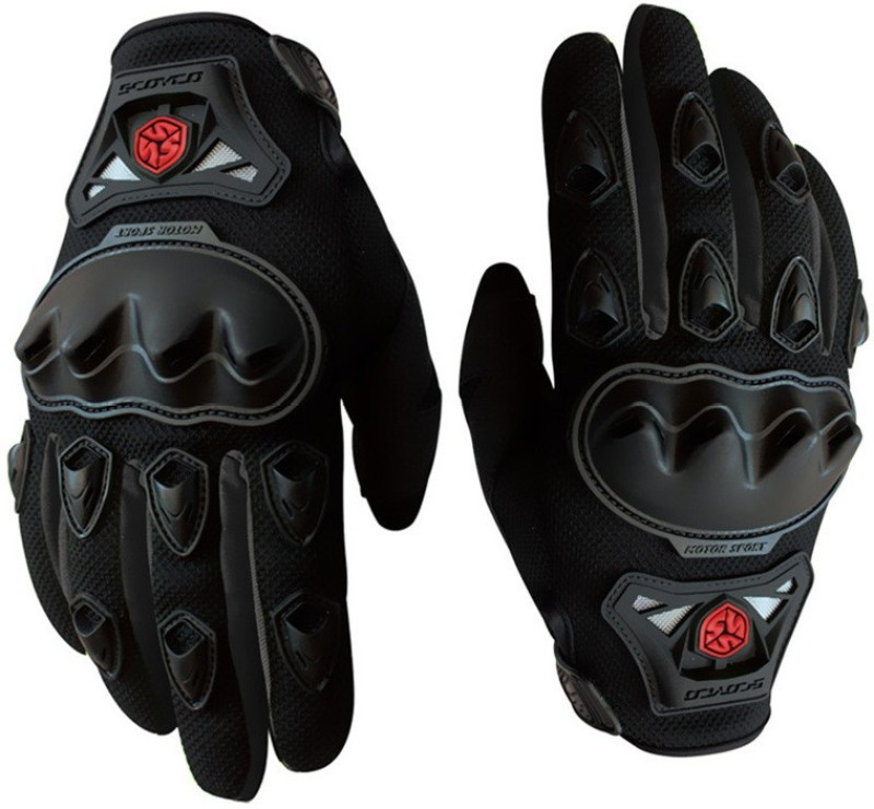 Scoyco FBZ Riding Gloves (L, Black)