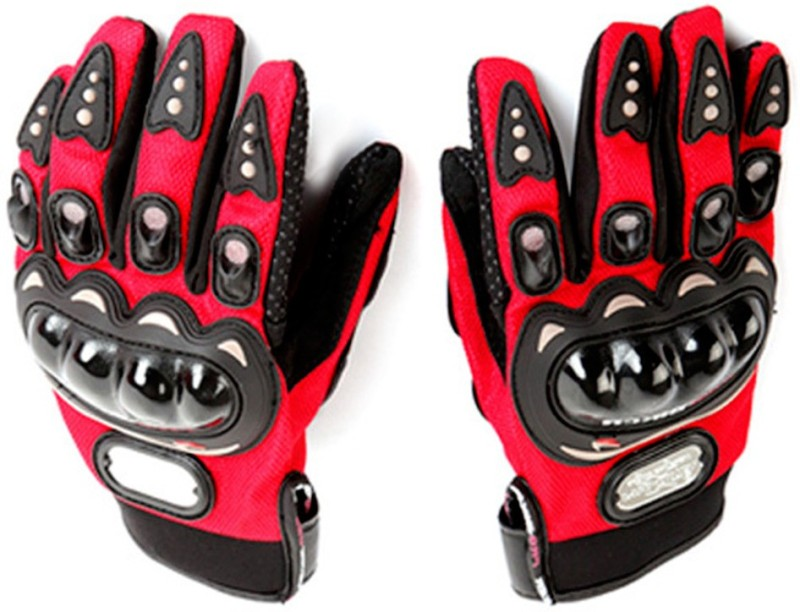 Probiker MCS-01A Skid-Proof Full Finger Motorcycle Racing - Red (Pair...