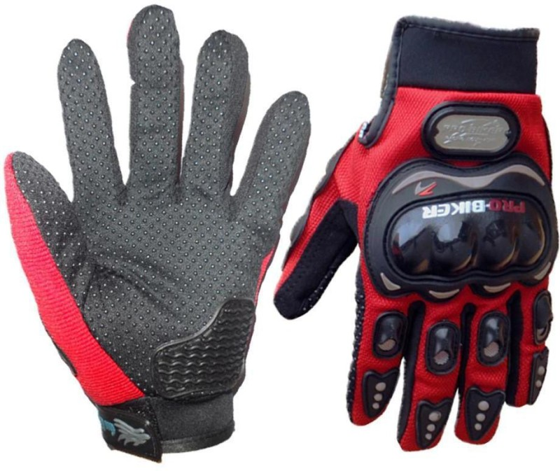 Probiker Bike Racing Motorcycle Riding Gloves Red Color Riding Gloves...