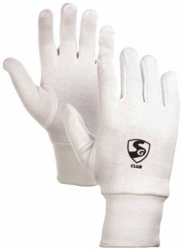 SG Club Inner Gloves (Youth, White)