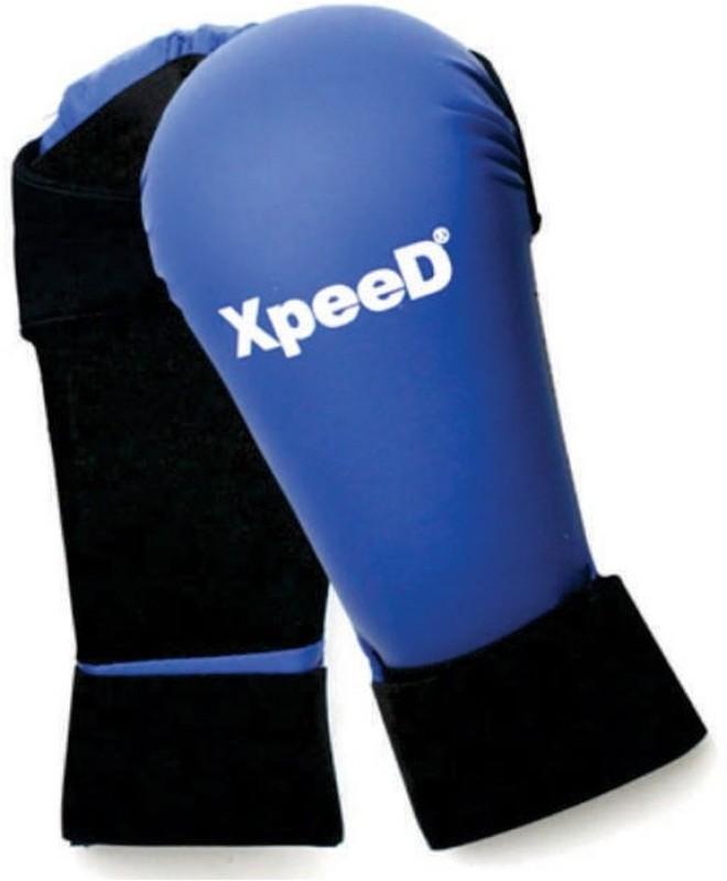 Xpeed Taekwondo Point Boxing Gloves (Free Size, Blue, Black)