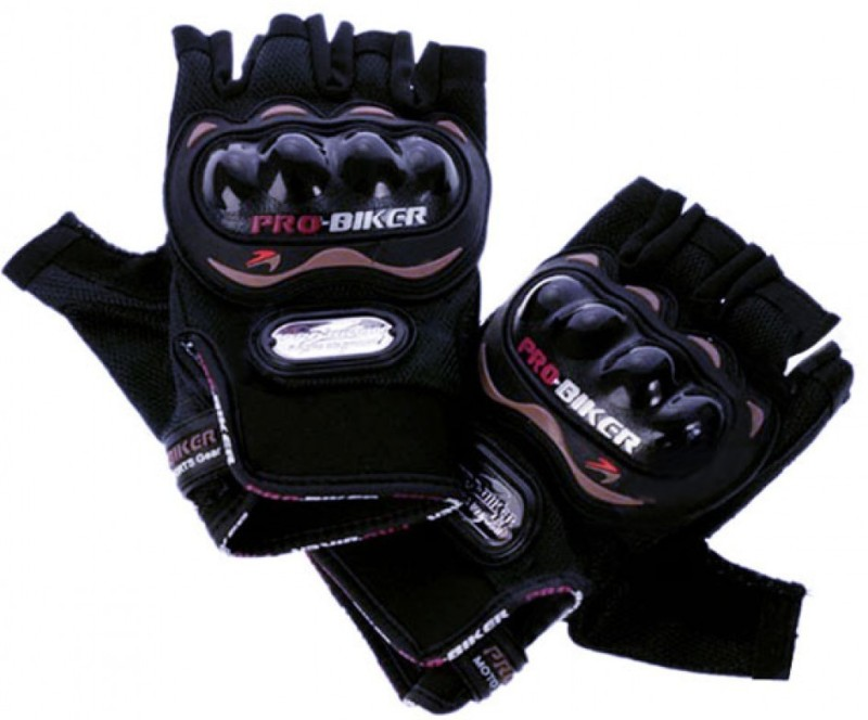 Probiker Bike Racing Motorcycle Half Riding Gloves Black Color Riding...