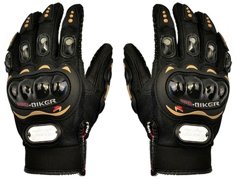 Probiker MCS-01A Skid-Proof Full Finger Motorcycle Racing - Black (Pair...