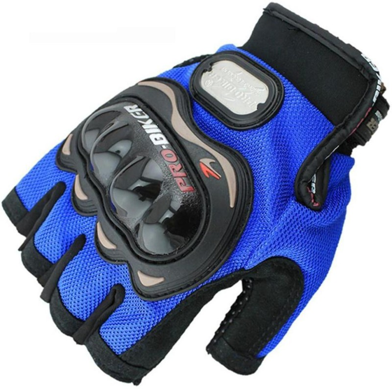 Probiker Bike Racing Motorcycle Half Riding Gloves Blue Color Riding...