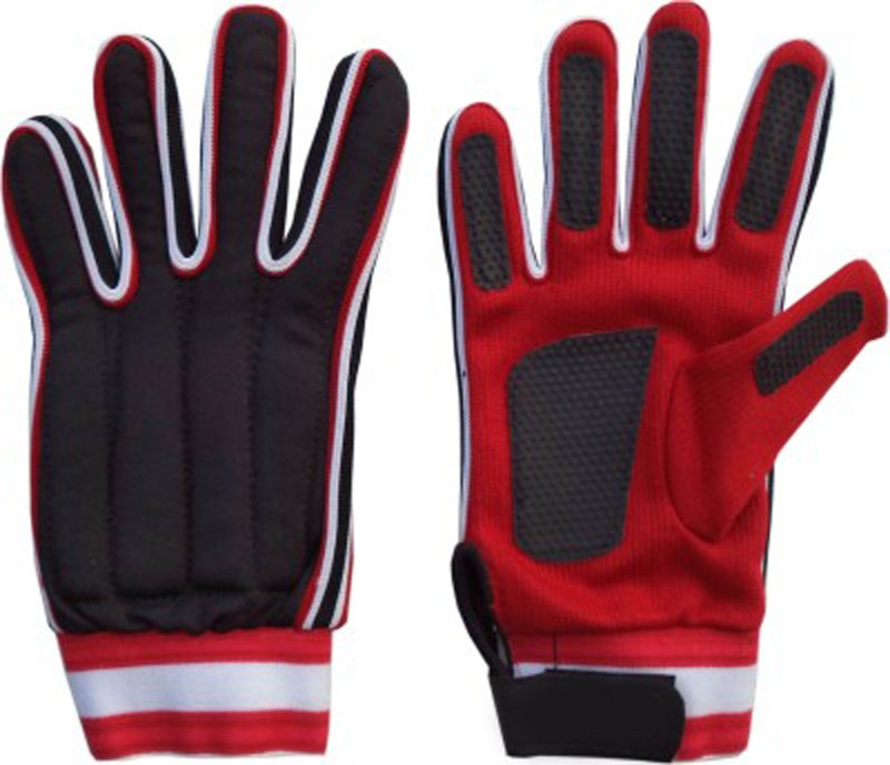Monika Sports moni Goalkeeping Gloves (M, Red, Black)