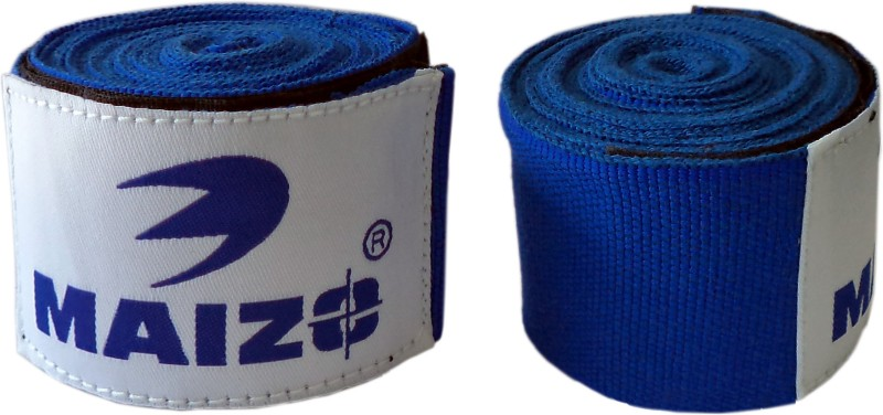 Maizo Stretchable 108 Inches Hand Wraps (Assorted) Boxing Gloves (M, Blue)